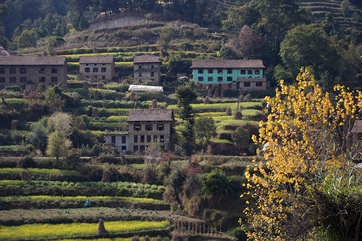 hill-side-houses-nepal