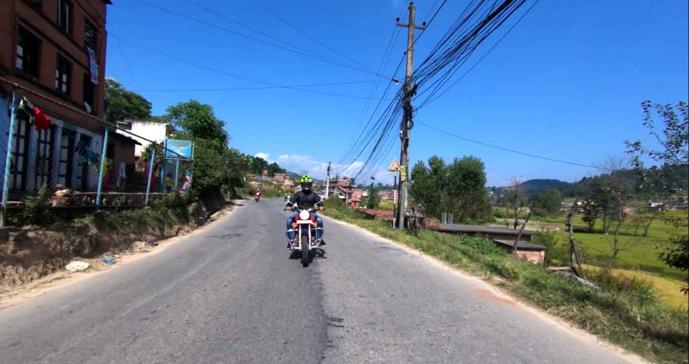 Budget Motorcycle Tour in Nepal